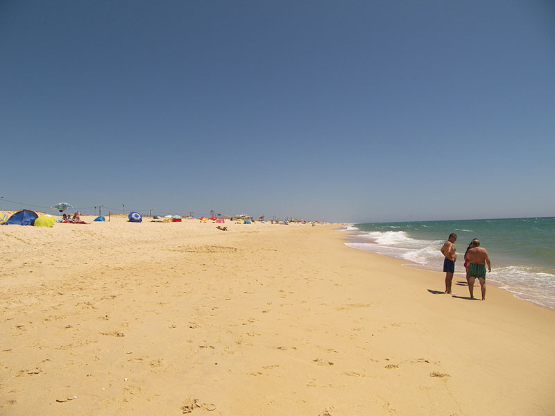 Praia de Faro Beach