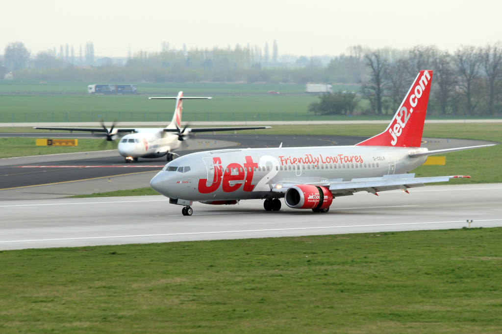 Jet2 plane on a runway