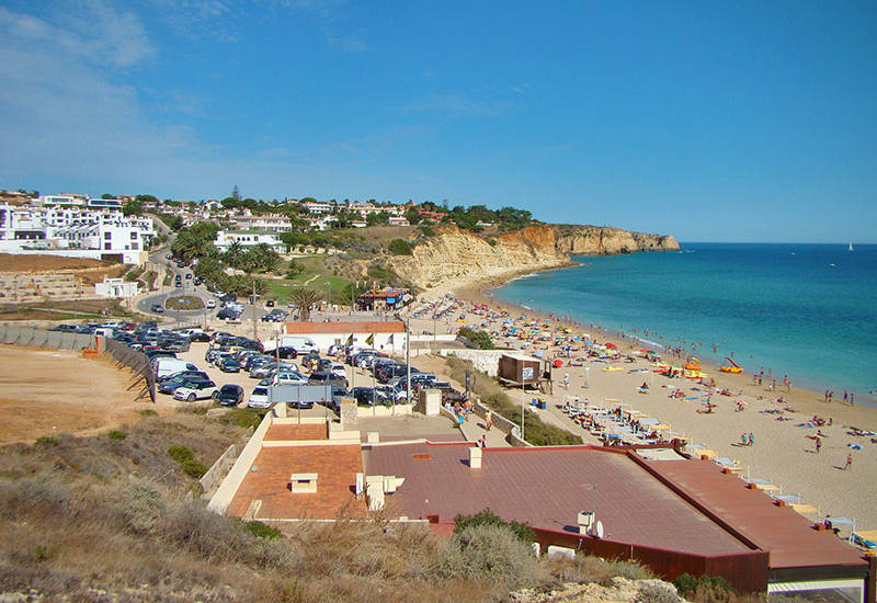 Praia Porto de Mos - The second largest beach of Lagos