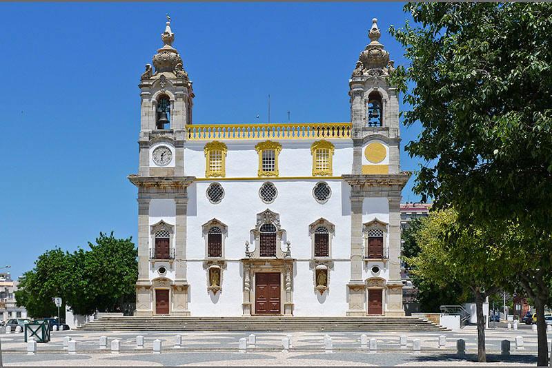 Cormo Church in Faro, Portugal