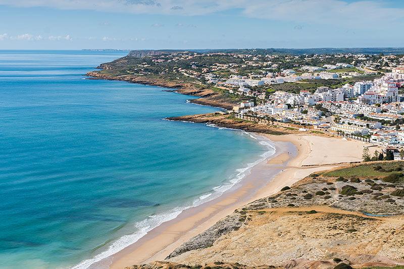 Praia de Luz - The Headland
