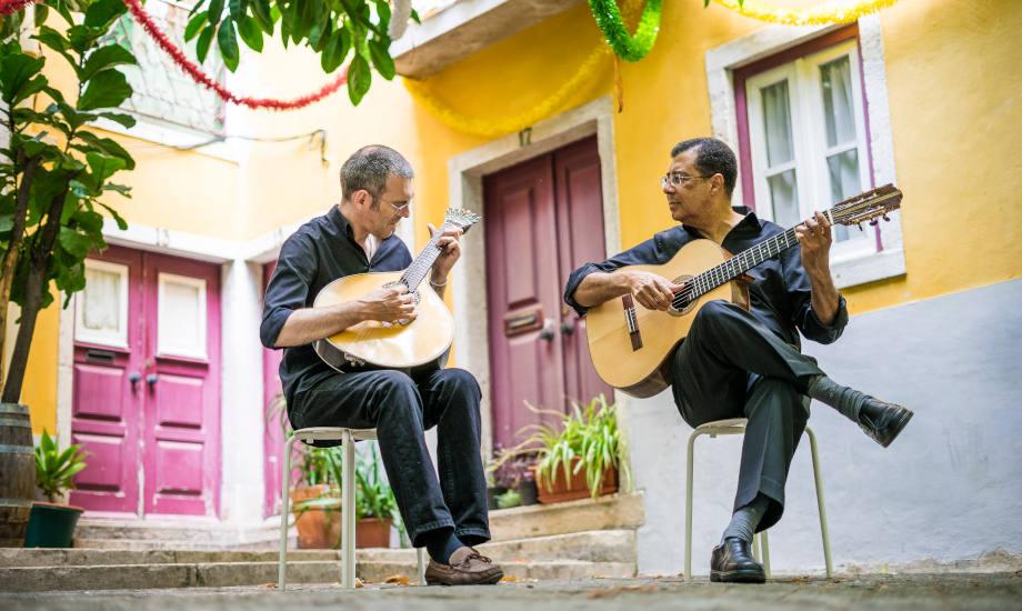 Two Fado Guitarists