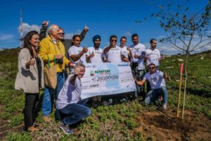 Ryanair donated €250,000 to Renature Monchique