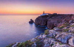 Sunset in Sagres