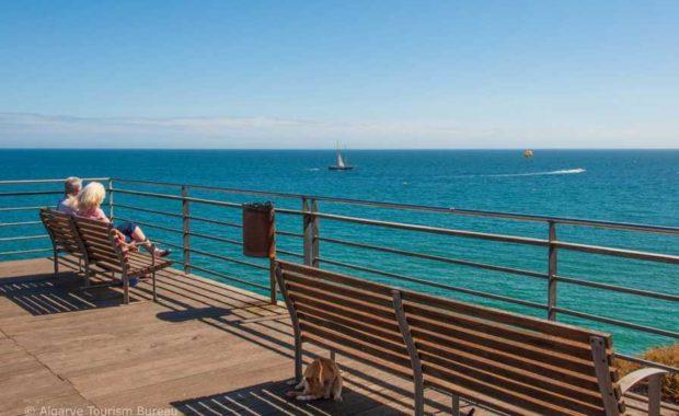 View over the Atlantic in the Algarve