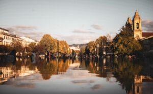 Braga river setting