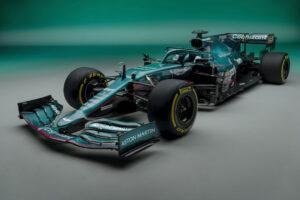 Aston Martin F1 racecar