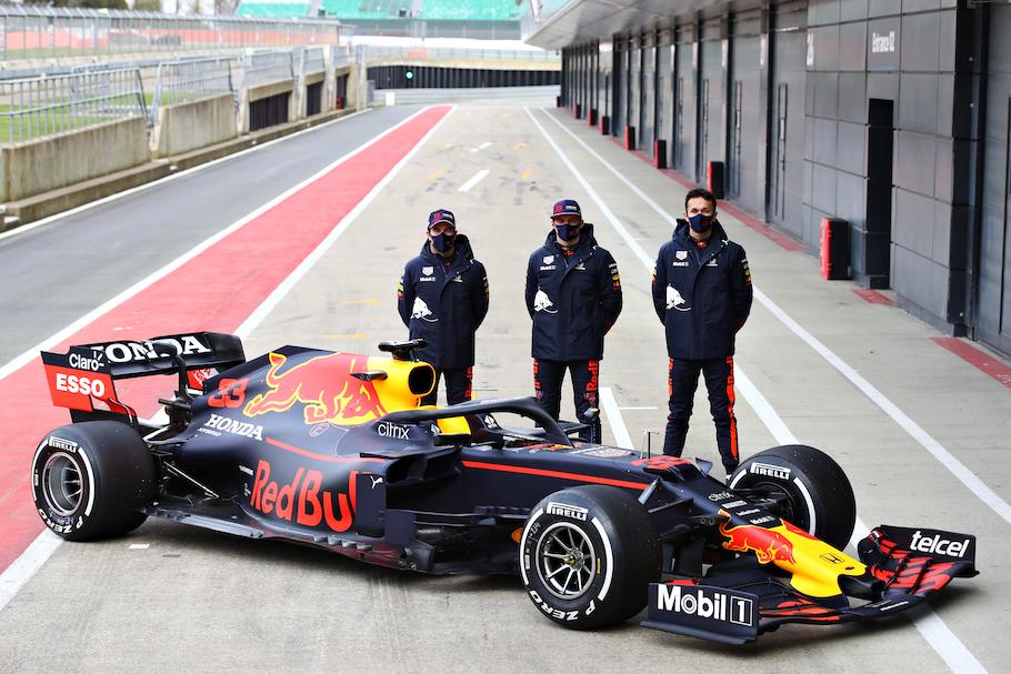 Red Bull F1 racecar